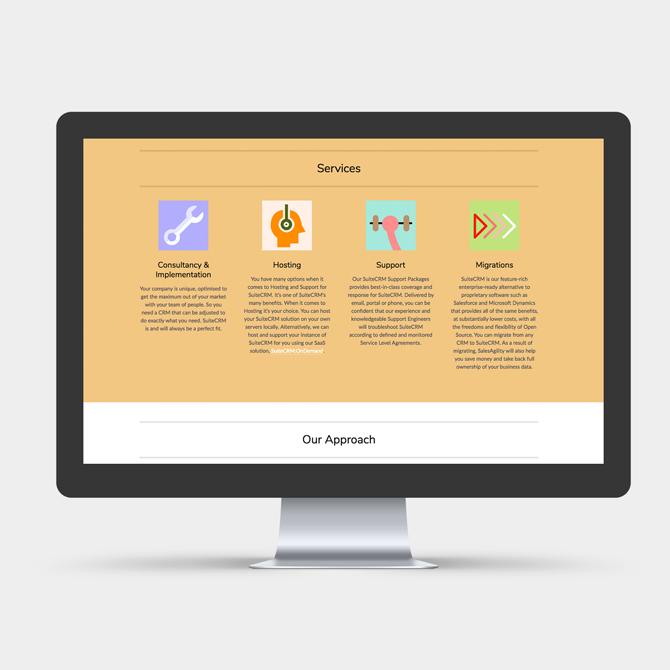 Sales Agility Website