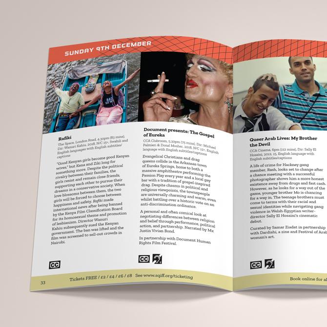 SQIFF Programme Inside Spread